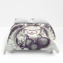 Palm Tree Llama Comforters