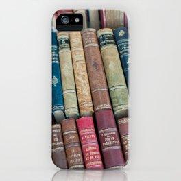 Paris - Used Vintage Books iPhone Case