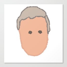 gary johnson emoji Canvas Print
