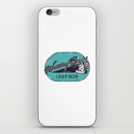 Whistling Beaver Lager Beer iPhone Skin