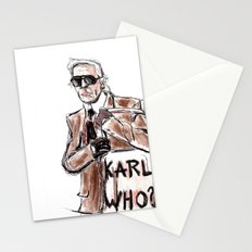 Karl who? Stationery Cards