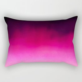 Purple and Black Abstract Rectangular Pillow