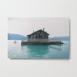 Lake House Metal Print