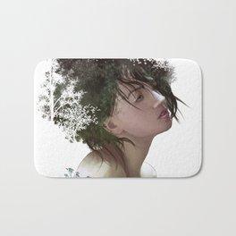 Natural Hair Bath Mat