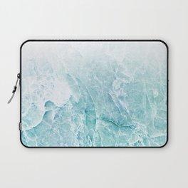 Sea Dream Marble - Aqua and blues Laptop Sleeve
