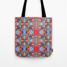 mexican stained glass Tote Bag