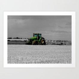 Working the Fields Art Print