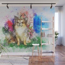 Dog Sitting Animal chihuahua Wall Mural
