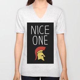"""Nice One Centurion"" Unisex V-Neck"