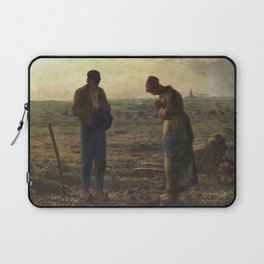 The Angelus by Jean Francois Millet Laptop Sleeve