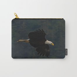 Soaring Alaskan Eagle Carry-All Pouch