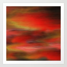 abstract may I Art Print