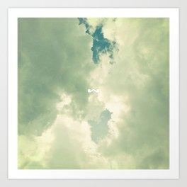 Cumulonimbus. Art Print