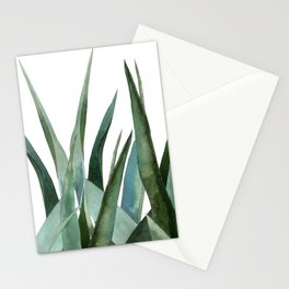 Agave leaves Stationery Cards