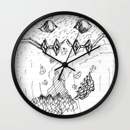 Adventure Island Monster Wall Clock