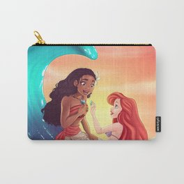 Moana and Ariel Carry-All Pouch
