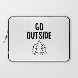 Go Outside Laptop Sleeve