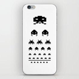 Gamers eye test iPhone Skin