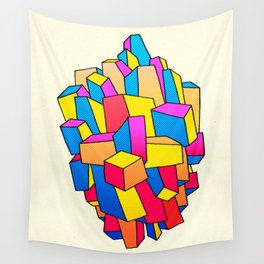 - summer Stadt - Wall Tapestry