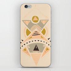 Pyramids 3 iPhone & iPod Skin
