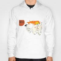 okami Hoodies featuring Okami! by Caroline.Sweet