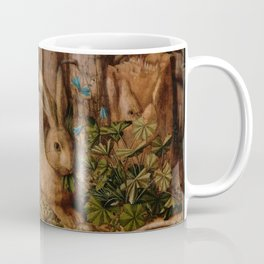 A Hare In The Forest Hans Hoffmann Coffee Mug