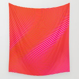 Fancy Curves Wall Tapestry