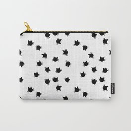 Lucky Star Cats (falling stars) by Katrina Ward Carry-All Pouch