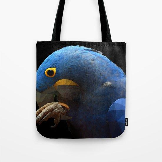 POLYGON PARROT Tote Bag