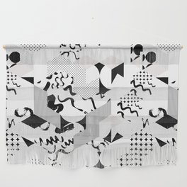 In between the lines and dots Wall Hanging