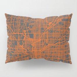 Indianapolis map Pillow Sham