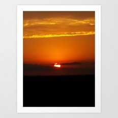 Oklahoma Sunrise Art Print