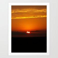 Oklahoma Sunrise Art Print