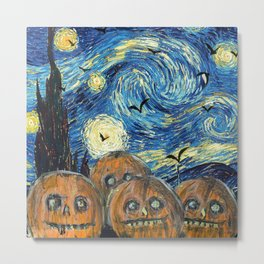 Scarry Night Metal Print