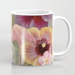 Tropical Fade Flamingos Coffee Mug