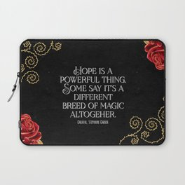 Hope is a powerful thing - Caraval Stephanie G Laptop Sleeve