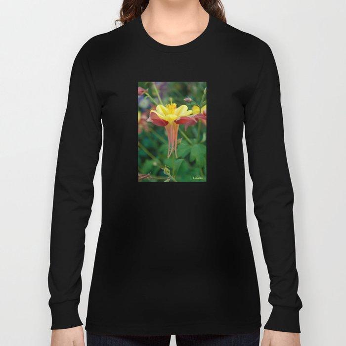 Floating Flower Long Sleeve T-shirt