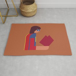 Ms Lady Reads Rug
