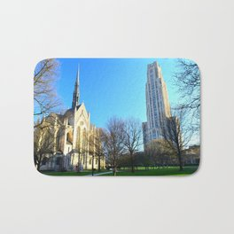 Heinz Chapel and Cathedral of Learning in Pittsburgh 12 Bath Mat