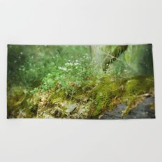 Where Miracles Are Born Beach Towel