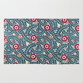 Wiener Werkstatte Textile Pattern, 1910 Rug