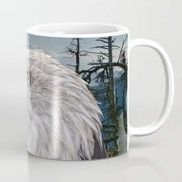 Bald Eagle in the Mountains Coffee Mug