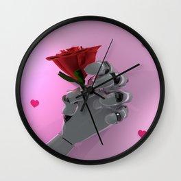 Robot Love Wall Clock