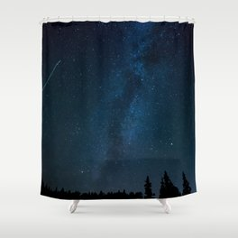 Night Sky Picture Shower Curtain