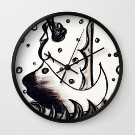 Siren of the sea men Wall Clock
