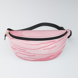 abstract style aurora borealis abspw Fanny Pack
