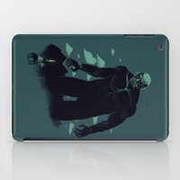 titan iPad Cases featuring shadow of the titan by Louis Roskosch