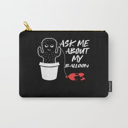 Cactus vs. balloon Carry-All Pouch