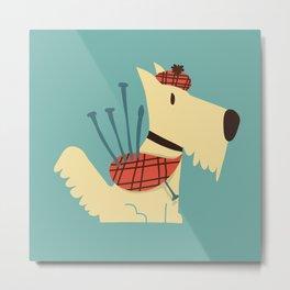 Scottish  Terrier - My Pet Metal Print