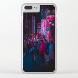 Cyber Tokyo Clear iPhone Case